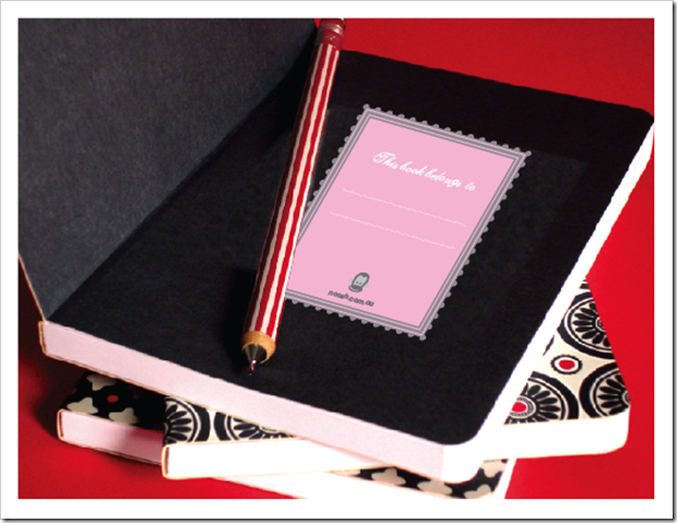 PINK BOOK PLATES