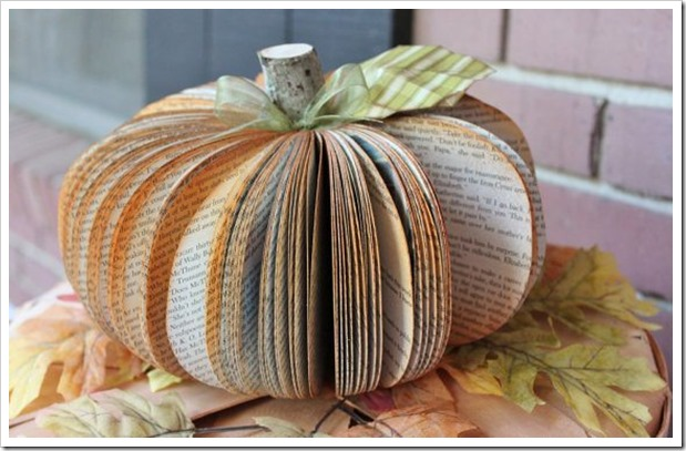 Upcycled-Pumpkin-Book